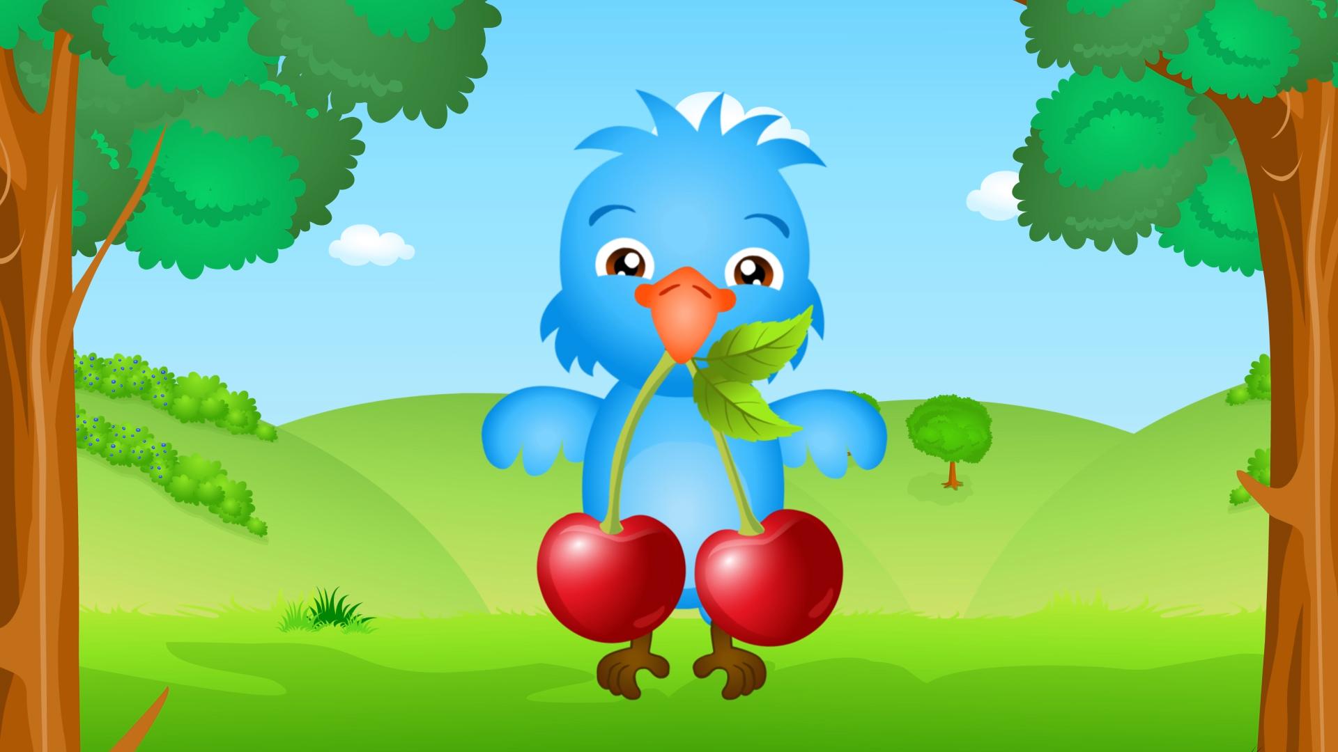 nauka_o_owocach_dla_dzieci_owoce_czeresnie